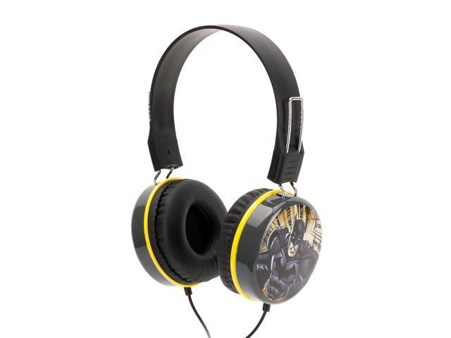 Griffin Justice League Batman Over the Ear Headphones Listen to music with the World's Greatest Super Heroes!