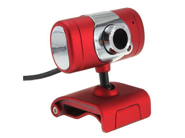 red 30M USB 2.0 Web Cam Video Webcam With Microphone Mic for PC Laptop Desktop computer Camera MSN SKYPE Windows 2000/XP/Vista/Win 7, Mac OS ...