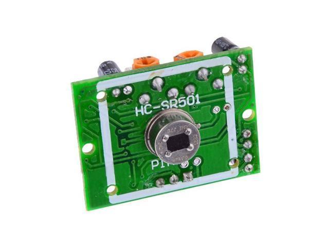 DC4.5-20V 12v HC-SR501 Human Infrared IR Motion Detector Sensor Module 7m detecting range