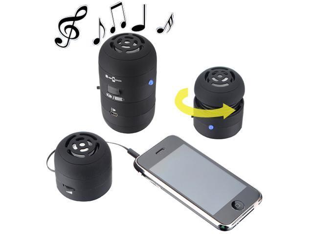 Mini LED Portable Multimedia USB Speaker for Mp3 Cell Phone iPod iPhone ipad Samsung Galaxy Sony Laptop PC/ Black