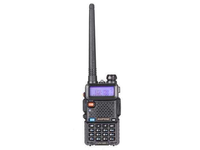 BAOFENG UV-5R 128 groups channels storage Dual Band Handheld Transceiver Radio Walkie Talkie