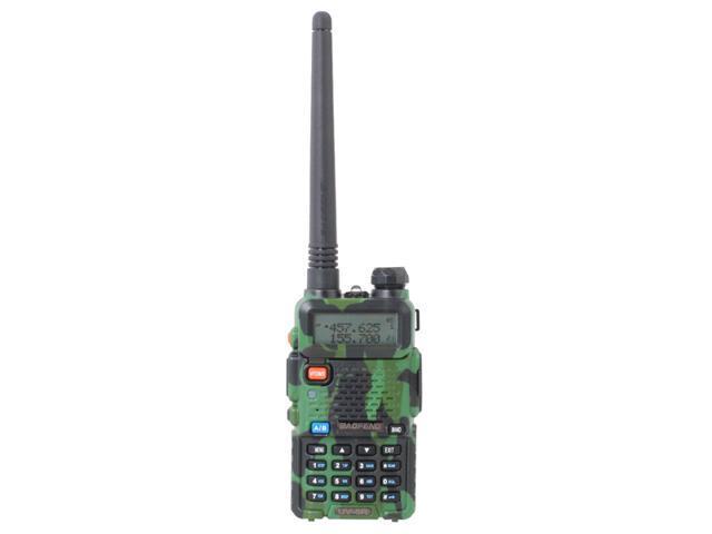 BAOFENG UV-5R 128 groups channels storage Dual Band Handheld Transceiver Radio Interphone