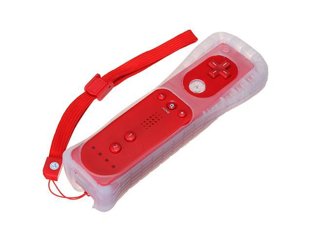 Red Wiimote Remote Control Controller for Nintendo Wii Game + Free Silicone