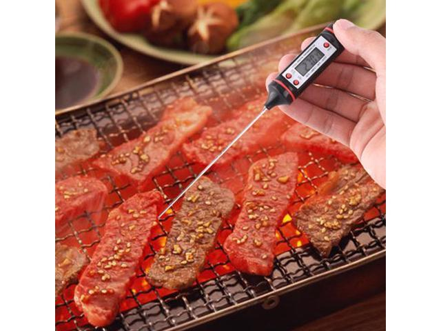 New Instant Kitchen LCD Digital Food Probe Cooking BBQ Meat Deep Fry Electronic Thermometer
