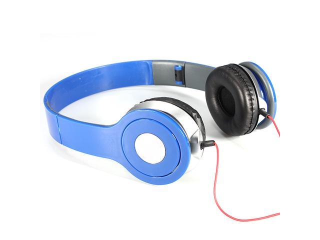 NEW! 3.5mm Foldable Stereo Headset Headphone Over-Ear Earphone for Laptop Desktop Mac PC MP3/4 DJ iPhone iPad Samsung Galaxy HTC