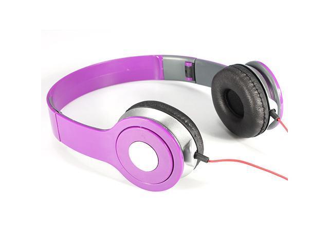 NEW!3.5mm Foldable Stereo Headset Headphone Over-Ear Earphone for Laptop Desktop Mac PC MP3/4 DJ iPhone iPad Samsung Galaxy HTC