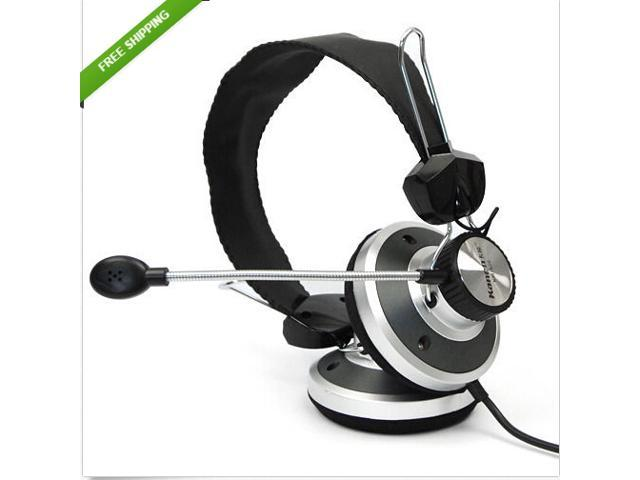 3.5mm Pro Gaming Game HiFi Stereo Headset Headphone with Mic for PC Laptop Skype Music Chatting