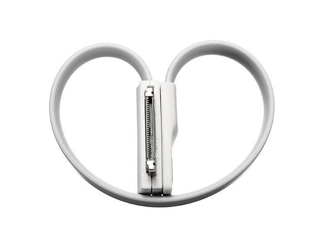 New Magnet Flat Short 30pin USB Data Charger Cable Cord for iPhone 3 3GS 4G 4S iPod Touch 4 iPad 1 2 3