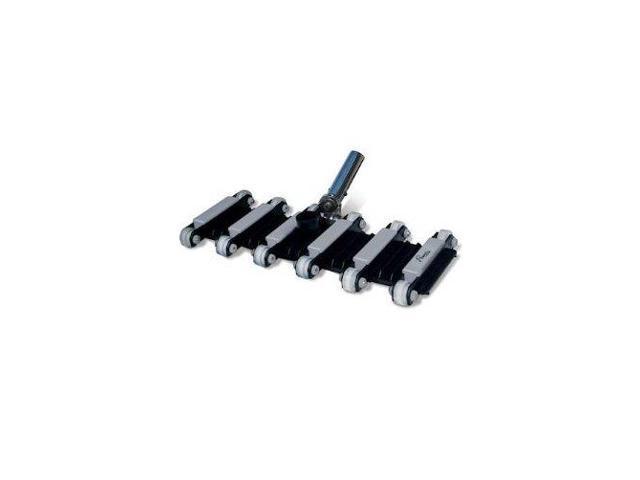 Poolmaster 27250 Premier Commercial Heavy Duty Flexible Vacuum Head with Steerable Metal Handle, 19 27250 PoolMaster