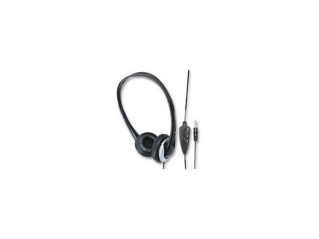 Lightweight Headphones with Volume Control and 20' Cord