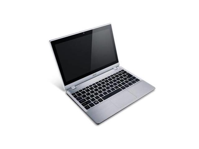 Acer-Aspire V5-122P-0880 11.6 Inch Touchscreen Amd A4-1250 1.0Ghz/ 4Gb Ddr3/ 500Gb Hdd/ Usb3.0/ Windows 8 Notebook (Silver)