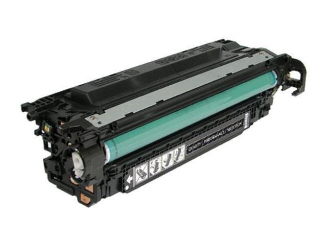 LJ CP3525DN/CP3525N/CP3525X M3530 MFP/M3530FS MFP High Yield Black Toner (OEM# CE250X) (10500 Yield)
