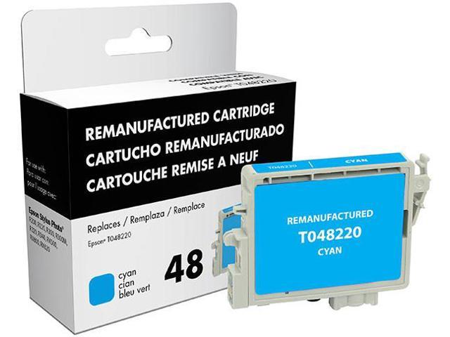 Epson Stylus Photo R200/R220/R300/R300M/R320/R340/RX500/RX600/RX620 Cyan Inkjet Cartridge (OEM# T048220) (1250 Yield)