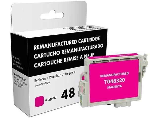 Epson Stylus Photo R200/R220/R300/R300M/R320/R340/RX500/RX600/RX620 Magenta Inkjet Cartridge (OEM# T048320) (700 Yield)