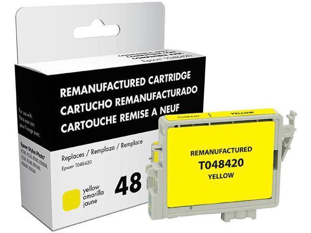 Epson Stylus Photo R200/R220/R300/R300M/R320/R340/RX500/RX600/RX620 Yellow Inkjet Cartridge (OEM# T048420) (700 Yield)