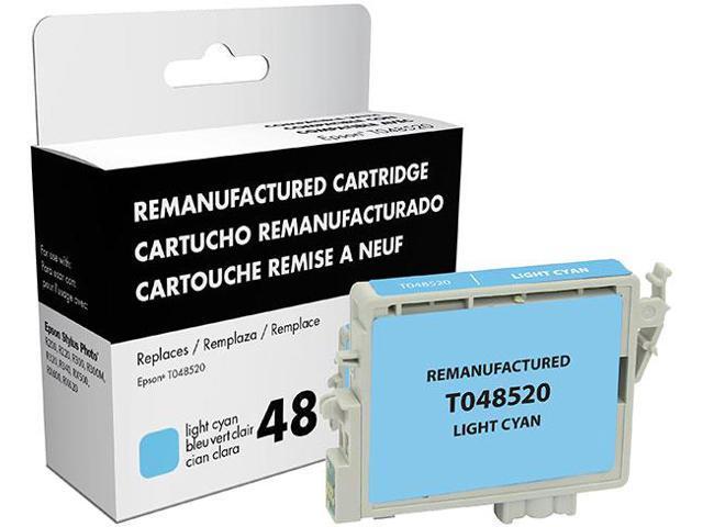 Epson Stylus Photo R200/R220/R300/R300M/R320/R340/RX500/RX600/RX620 Light Cyan Inkjet Cartridge (OEM# T048520) (650 Yield)