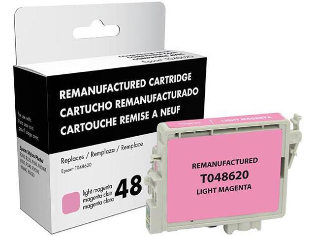 Epson Stylus Photo R200/R220/R300/R300M/R320/R340/RX500/RX600/RX620 Light Magenta Inkjet Cartridge (OEM# T048620) (800 Yield)
