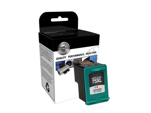 Clover Technologies Group CTG75XL Tri-Color Ink Cartridge Replaces HP 75XL CB338WN