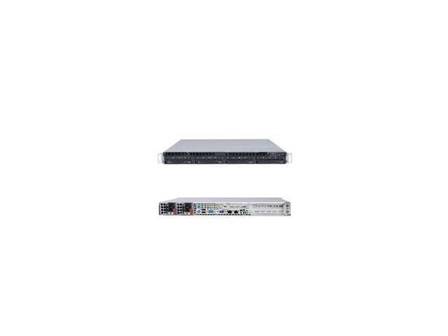 Supermicro Superserver Sys-5017C-Urf Lga1155 500W 1U Rackmount Server Barebone System (Black)
