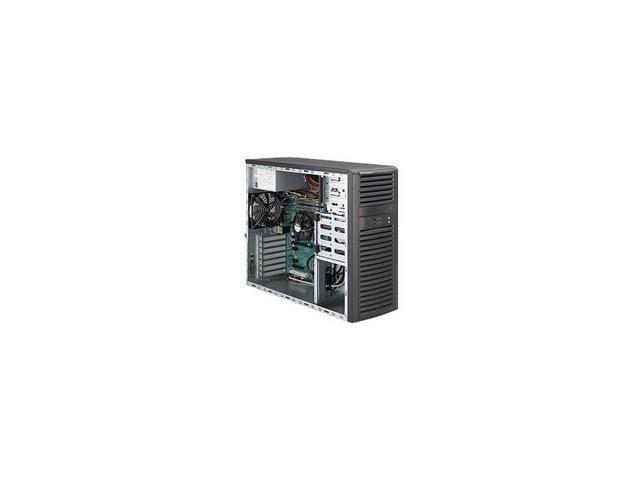 Supermicro Superworkstation Sys-5037A-Il Lga1155 500W Mid-Tower Workstation Barebone System (Black)