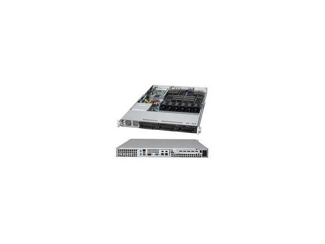 A+ Server As-1042G-Ltf Quad Socket G34 1400W 1U Rackmount Server Barebone System (Black)
