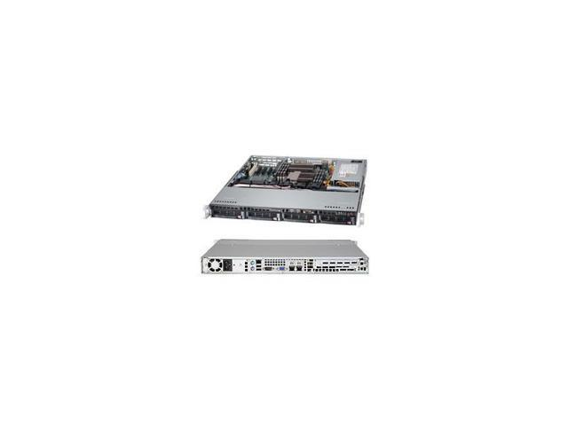 Supermicro Superserver Sys-6017B-Mtlf Dual Lga1356 350W 1U Rackmount Server Barebone System (Black)
