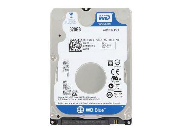 WD WD3200LPVX 320GB 2.5