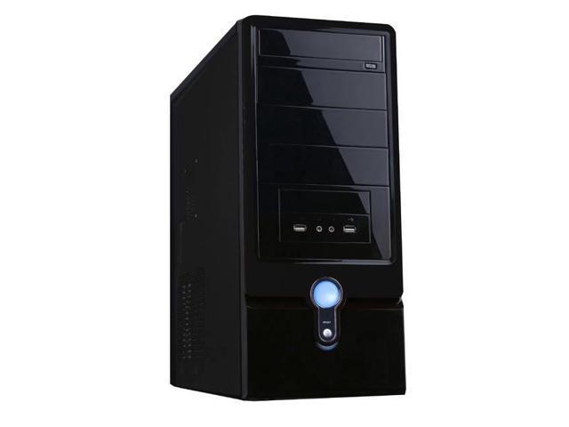 Ca-Im2109B 400W 20+4Pin Atx Mid Tower Case (Black)
