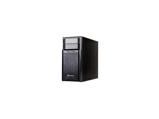 Sst-Ps08B No Power Supply Microatx Mid Tower Case (Black)