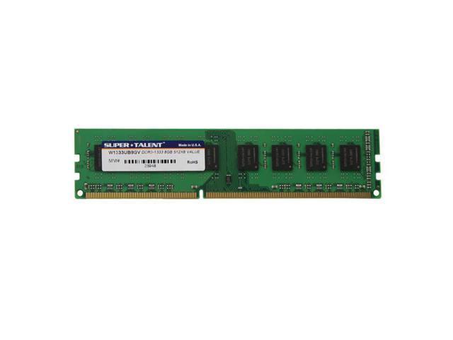 Super Talent Ddr3-1333 8Gb/512Mx8 Value Memory