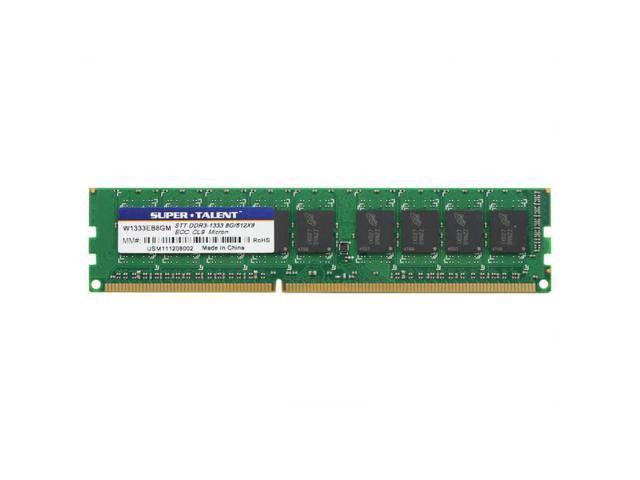 Super Talent Ddr3-1333 8Gb/512Mx8 Micron Chip Memory