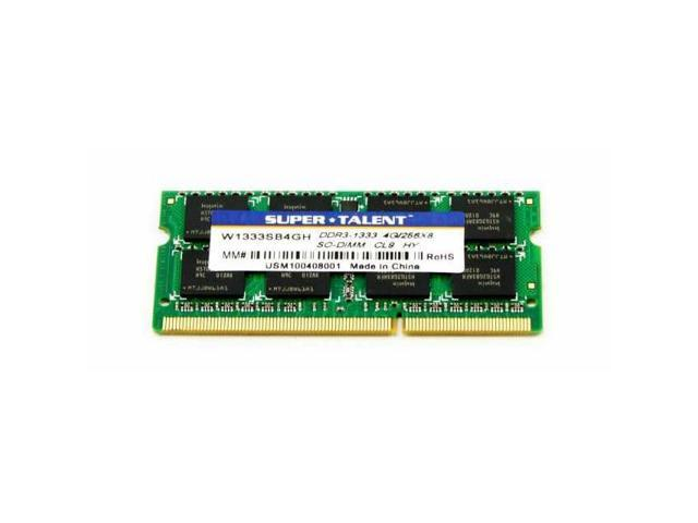 Super Talent Ddr3-1333 Sodimm 4Gb Hynix Chip Notebook Memory