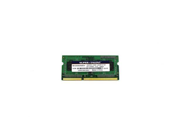 Ddr3-1333 Sodimm 4Gb/512X8 Value Notebook Memory