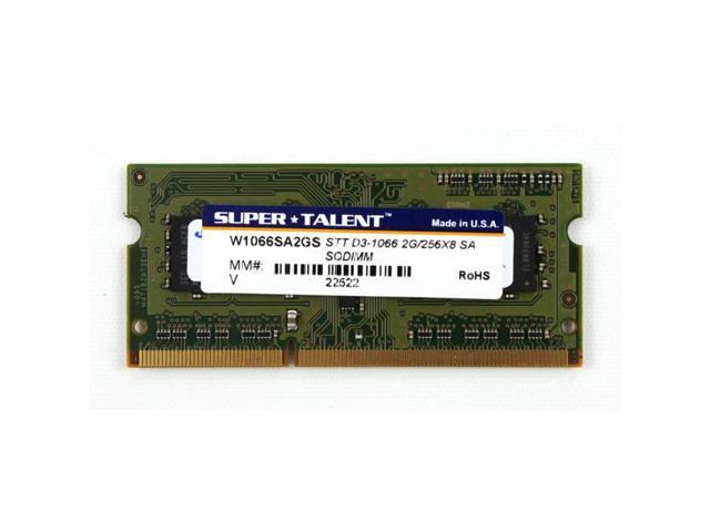 Ddr3-1066 Sodimm 2Gb/256Mx8 Samsung Chip Notebook Memory