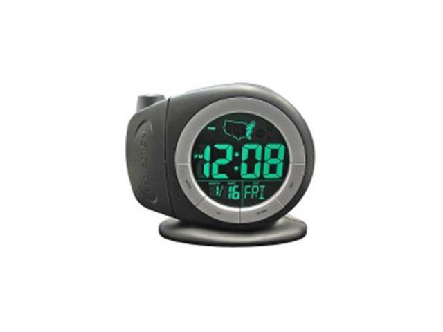 3468E Electric Time-Ready LCD Projector Dual Alarm Clock