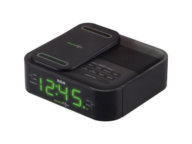 RC250BK SoundFlow Wireless Dock Dual Wake Alarm Clock