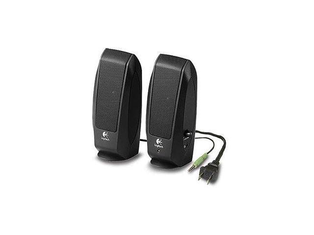 Logitech Oem PC Multimedia Speakers, Black
