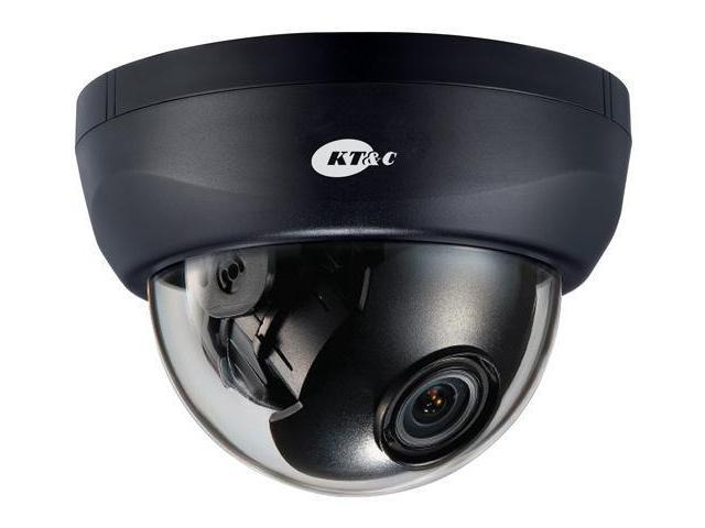 KT&C KPC-HDD122MB Full HD 1080p D/N HD-SDI Dome Camera, 3.6mm