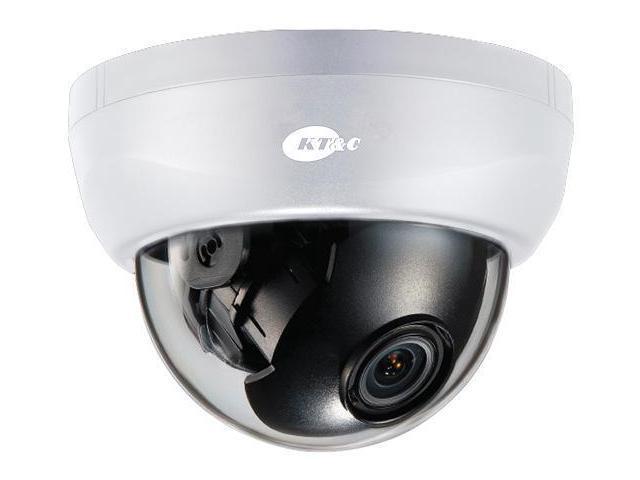 KT&C KPC-HDD122MV Full HD 1080p D/N HD-SDI Dome Camera, 3.6-16mm