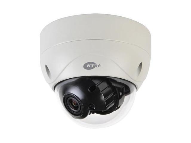 KT&C KPC-HDV100M 1.3MP 720p HD Outdoor True D/N Dome Camera, 3-9mm