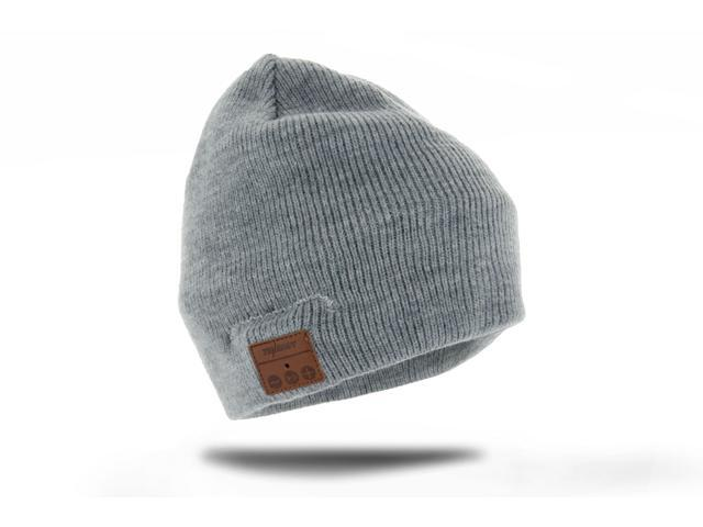 Tenergy Basic Knit Bluetooth Beanie w/ Built-in Speakers - Gray