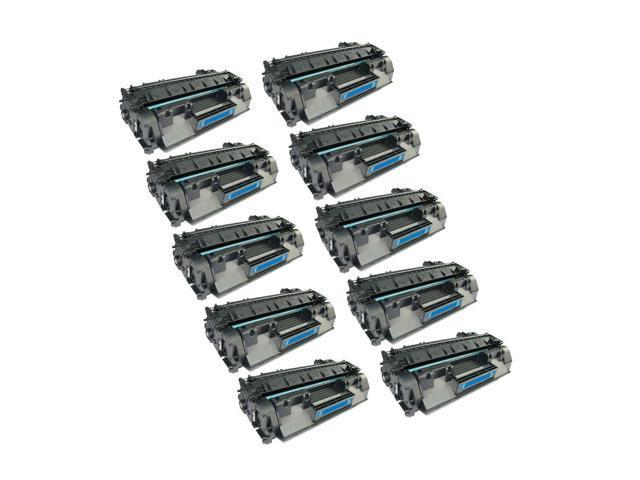 10 PK HQ Compatible HP CE505 CE505A 05A Toner Cartridge for HP LaserJet P2030 P2035 P2035n P2050 P2055 P2055d P2055dn P2055x