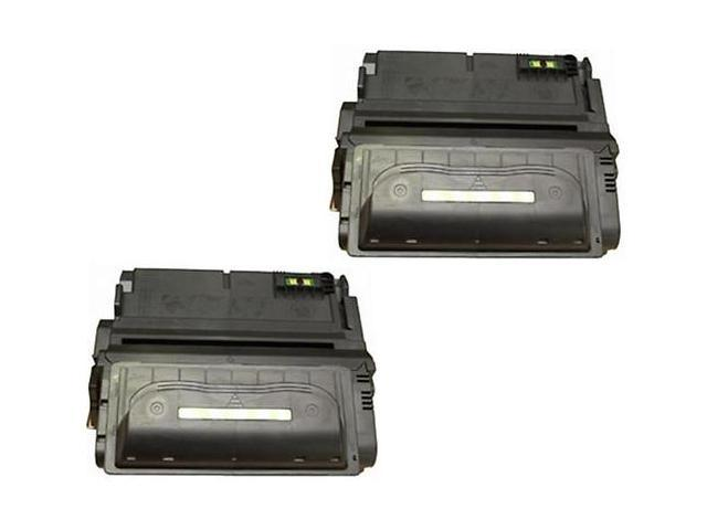 2 PK HQ Premium Compatible HP Q1338A 38A Toner Cartridge for HP LaserJet 4200 and 4250 Series, 4300, 4345 Series, MFP, 4345 Series, 4350 Series ...