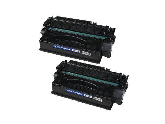2 PK HQ Compatible Q7553A 53A toner cartridge for HP LaserJet M2727nf MFP, P2014, P2015, P2015d, P2015dn, P2015n, P2015x Series printer