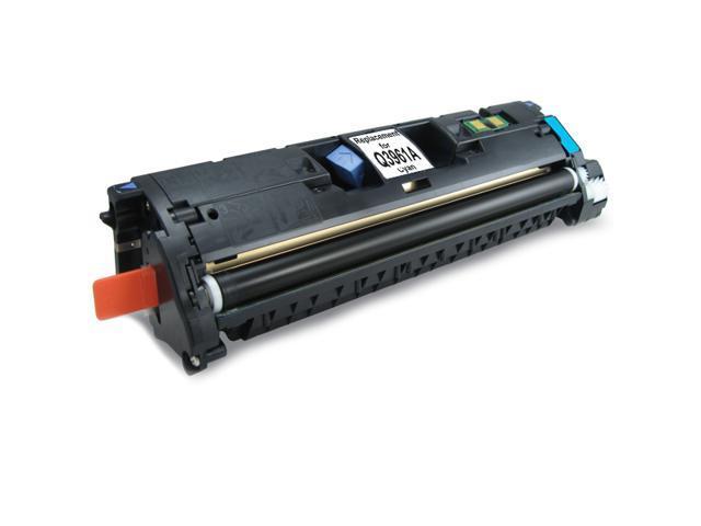 HQ Compatible HP Q3961A 122A Cyan Toner Cartridge for HP Color LaserJet 2550 2550L 2550Ln 2550N 2820 2830 2840 Printers