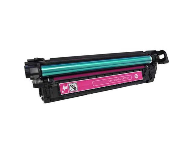 HQ CE253A 504A Compatible HP Magenta Toner Cartridge for HP Color Laserjet CM3530 CM3530fs CP3520 CP3525 CP3525dn CP3525n CP3525x