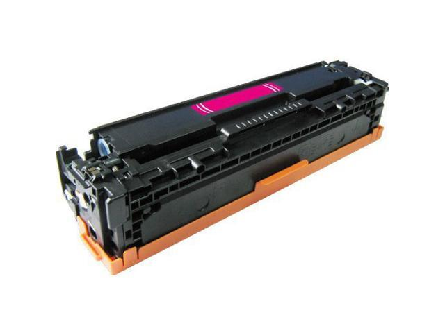 HQ Compatible HP CB543A 125A Magenta Toner Cartridge for HP Color LaserJet CP1215/CP1515N/CP1518NI; HP CM1312/CM1312NFI