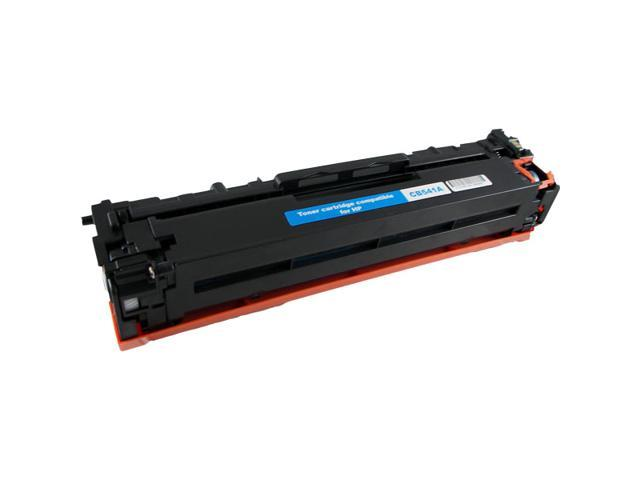 HQ Compatible HP CB541A 125A Cyan Toner Cartridge for HP Color LaserJet CP1215/CP1515N/CP1518NI; HP CM1312/CM1312NFI