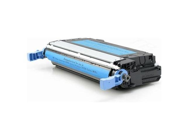 HQ Compatible Q6461A 644A Cyan Toner Cartridge for HP Color LaserJet 4730 Series Printers