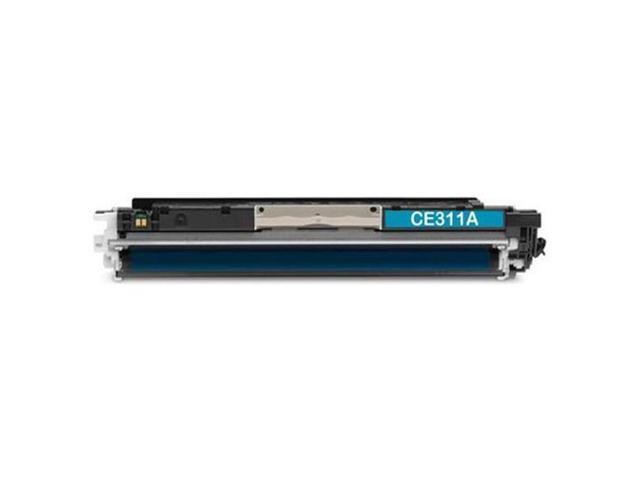 HQ Supplies © Premium Compatible HP 126A (CE311A) Cyan Laser Toner Cartridge for HP Color LaserJet CP1025nw, Color LaserJet TopShot Pro M275 ...
